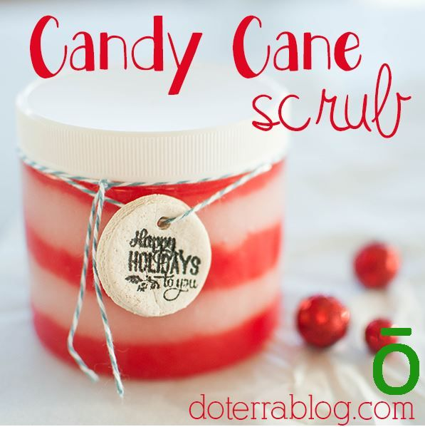 candy cane scrub 2 with doterra oils! to buy the oils visit my site  http://www.mydoterra.com/hiddenmeadows/#/