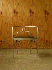 Rare Fritz Hansen Henning Larsen aluminium chair danish denmark kjaerholm