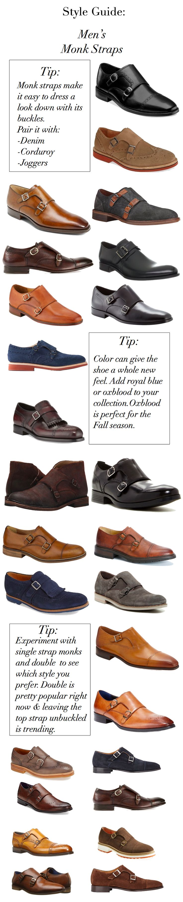 Style Guide: 25+ Monk Strap Shoes At All Price Points #menswear