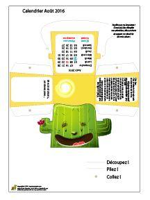 Il est de retour : Le calendrier 2016 d'Hugo l'escargot ! Donc, pour résumer : une planche à imprimer par mois, et pour chaque mois un découpage, du pliage, et comme résultat une belle boîte pour le mois, avec tous les jours indiqués, les fêtes importantes, et une information pédagogique mensuelle. Et tous les mois empilés vous feront un magnifique totem !! Trop bien !
