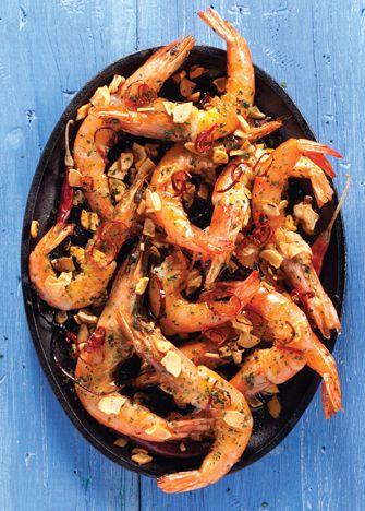 Camarones al mojo de ajo. Receta para preparar deliciosos camarones al mojo de ajo para una reunión familiar o simplemente por antojo | www.cocinavital.mx