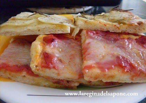La Regina del Sapone: pizza senza lievito di birra, senza lievito madre,...