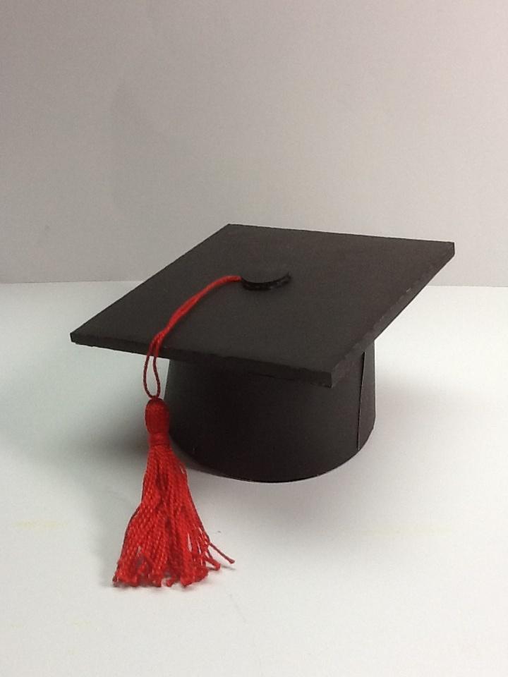 Graduation Cap Box.(svg cuts ): Graduation Cap, Svg File, Svgs