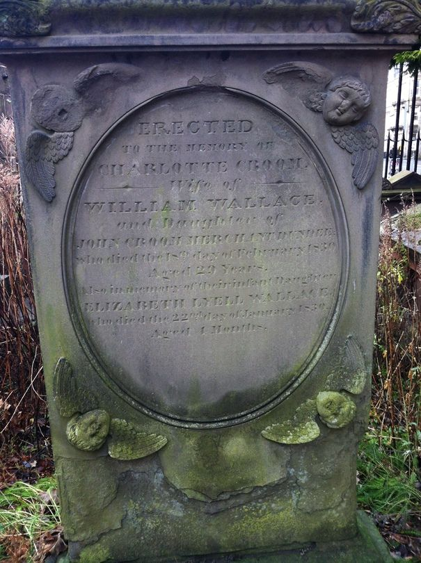 Amazing: William Wallace's wife is buried in Dundee.