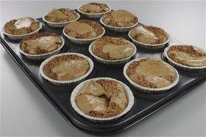 Chok/makron muffins