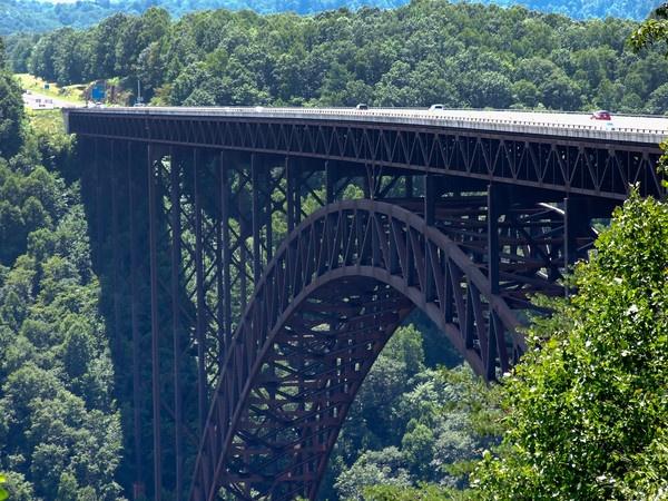 The New River Bridge in Beckley, West Virginia, one of out #Frontier Communities.     frontier.com