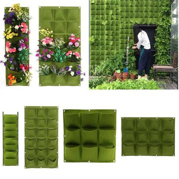 4/7/9/12/18 Pockets Planting Bags Garden Vertical Hanging Wall Seedling Planter Growing Bags - Newchic Mobile