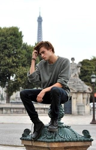 douglas booth.... inspiration for the thinker