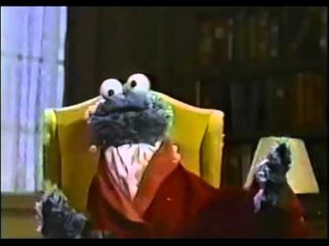 Ridculous and fantastic mash-up of cookie monster and Tom Waits