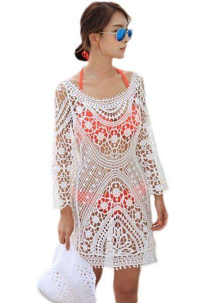 64 best robe plage blanche images on pinterest maillots de bain robe plage et soldes. Black Bedroom Furniture Sets. Home Design Ideas