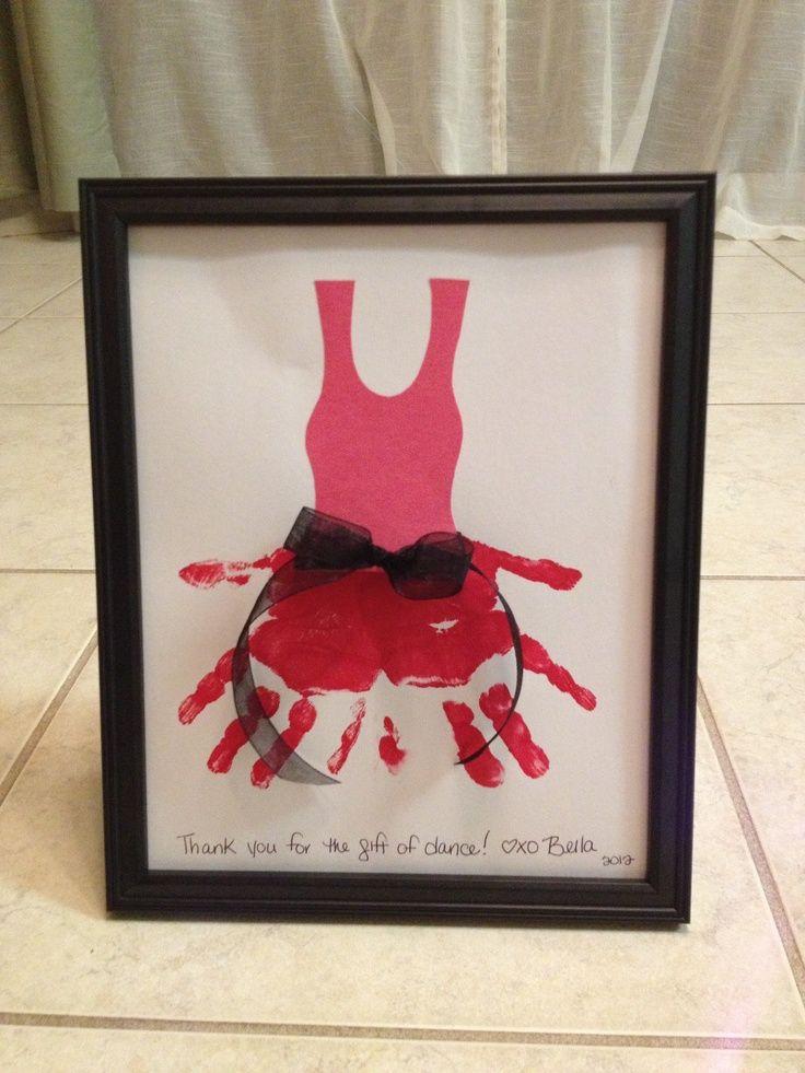 Gift for dance teachers