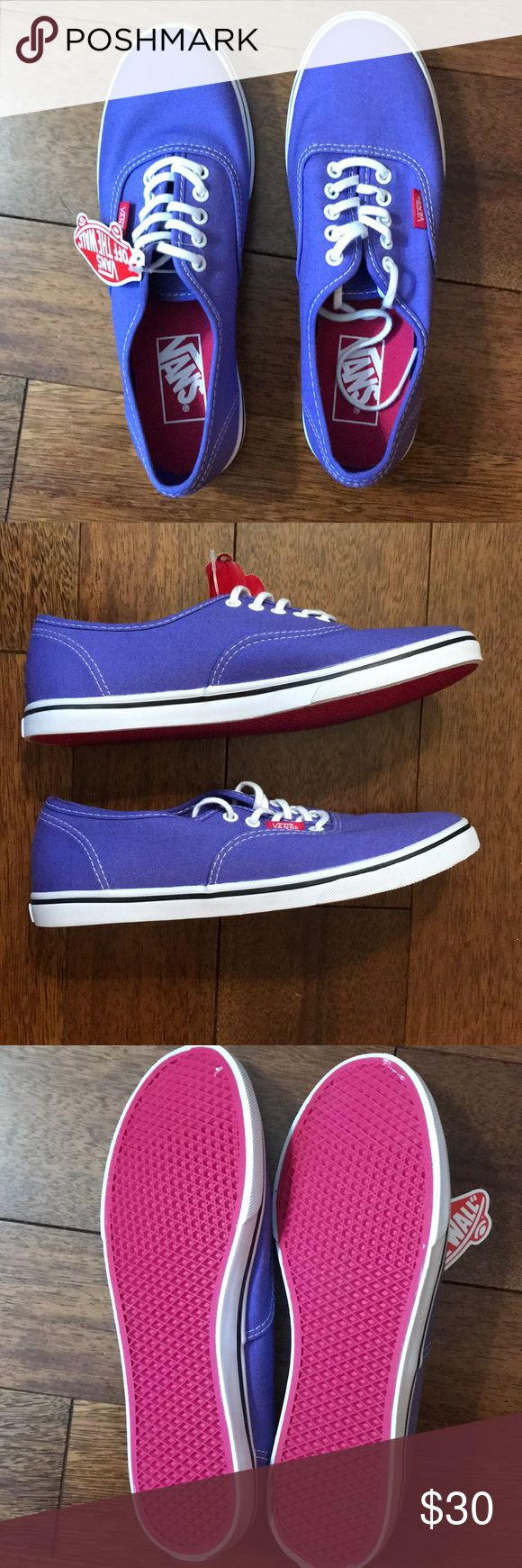 NWT Purple Vans Brand new, never worn purple Vans for sale! New with tags! Perfect condition! Vans Shoes Sneakers