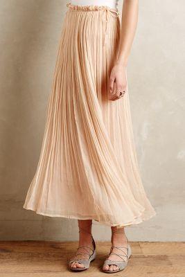 Mes Demoiselles Pirouette Maxi Skirt #anthrofave
