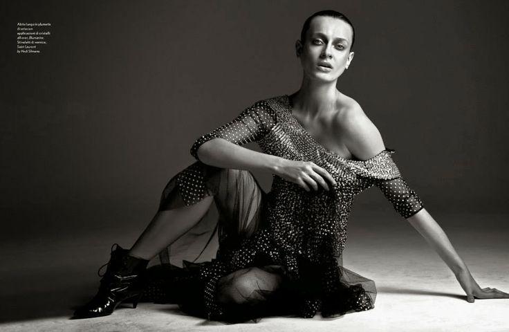 """""""Body Shapes"""" Erjona Ala by Cometti for Amica April 2014"""