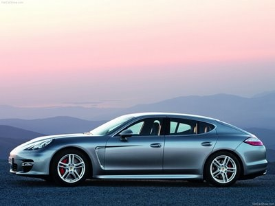 the Porsche Panamera. four door Porsche. perfect for car seats...really, it's not for me, it's for the kids.  really.