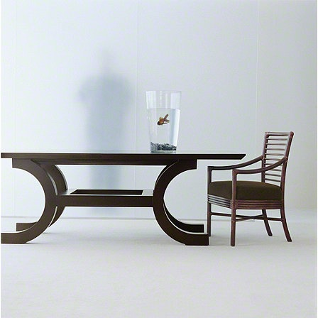 McGuire Furniture: Orlando Diaz-Azcuy Palazzo™ Dining Table: No. 485/2X