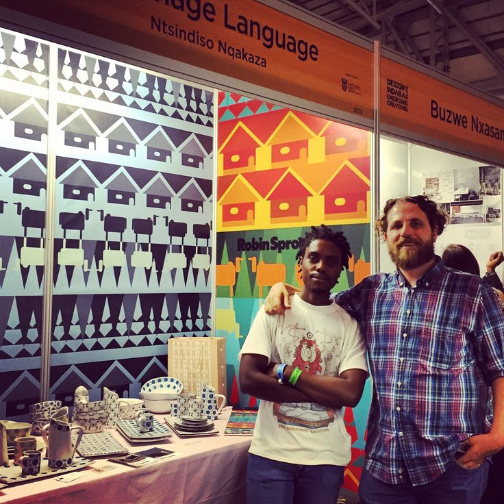 Supporting our artists at Design Indaba 2014.