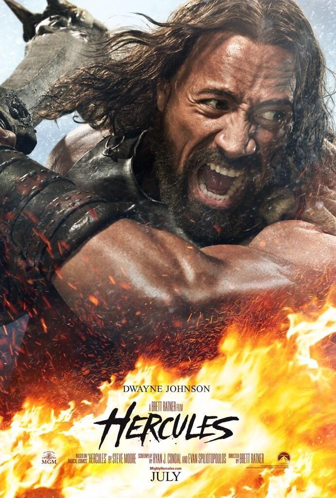 Watch Dwayne Johnson in the first Hercules trailer