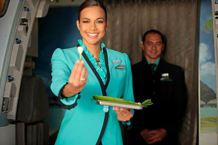 The new face of Air Tahiti Nui! Cabin cree