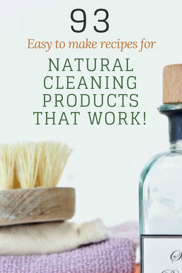 Keep your house chemical free & safer for your family with these amazing natural cleaning recipes...