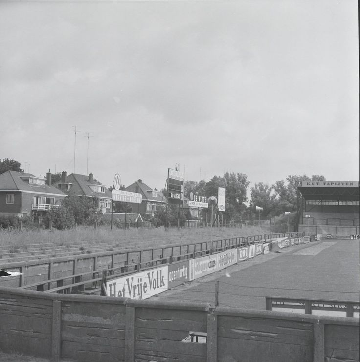 Deventer Go-Ahead Eagles Stadion 1965