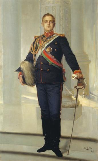 Prince Luís Filipe de Bragança (1887 -1908), painted in 1908 by José Malhoa - Malhoa Museum