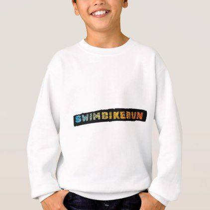 #Swim Bike Run Triathlon cool design Sweatshirt - #cycling #gifts