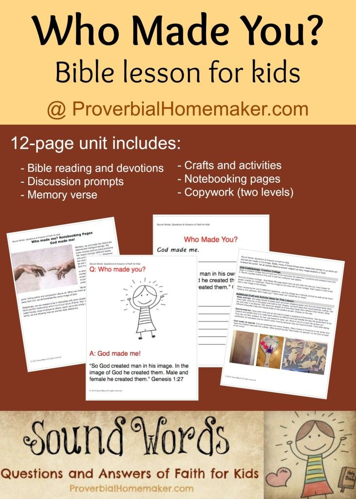 FREE Bible Study Worksheets and Printables - Homeschool ...