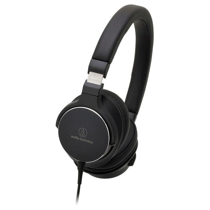 Audio Technica On-Ear High-Resolution Audio Headphones - Black