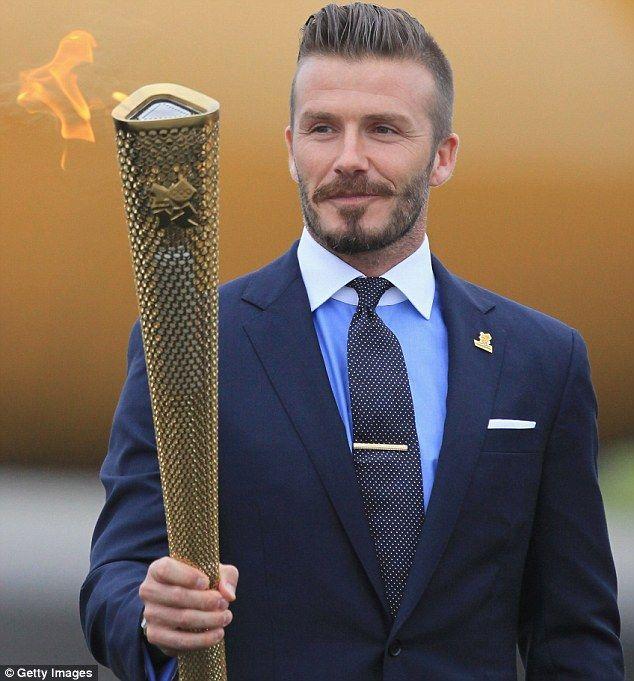 David Beckham Undercut Olympics
