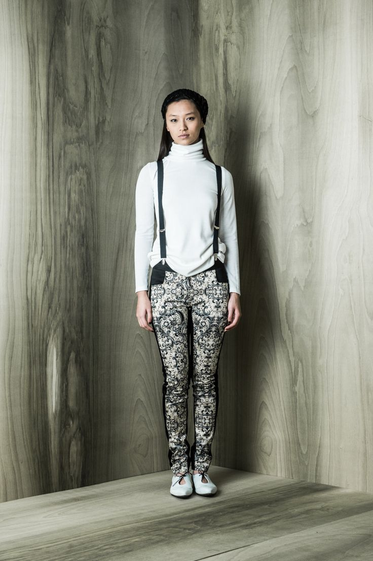 midnight pants, print, BODYBAG by jude, canadian designer