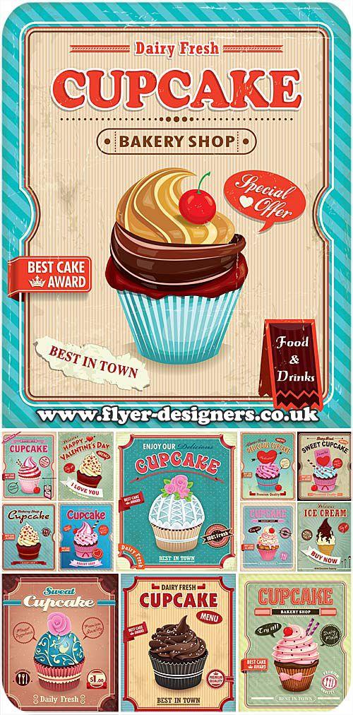 cupcake company flyer design ideas wwwflyer designerscouk cupcakeflyer
