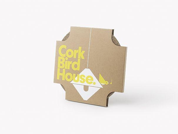 Cork Bird House by Gavin Coyle