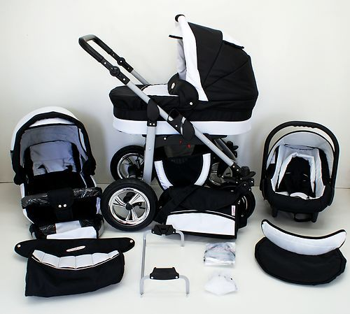 Baby pram and pushchair+carseat (Travel System)