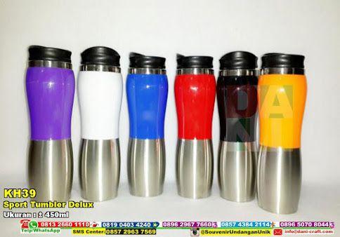 Sport Tumbler Delux Hub: 0895-2604-5767 (Telp/WA)tempat minum, botol minum, botol minum warna warni, botol minum bahan kaleng, botol minum gambar huruf, botol minum lucu, botol minum unik, botol minum cantik #botolminumlucu #tempatminum #botolminumwarnawarni #botolminum #botolminumgambarhuruf #botolminumunik #botolminumcantik #souvenir #souvenirPernikahan