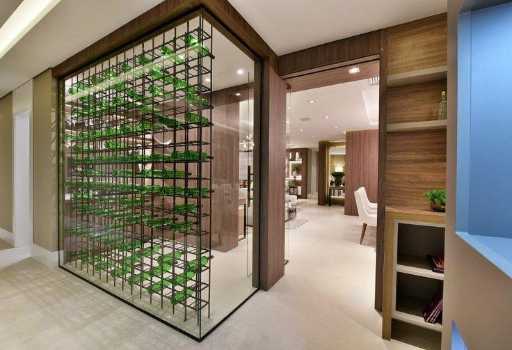 Adega #quitetefaria #arquitetura #design #decoração #atriaalphaville #mpd #interiordesign #adegadevidro  #decoraçãomoderna #apartamentodecorado #vinho #wine