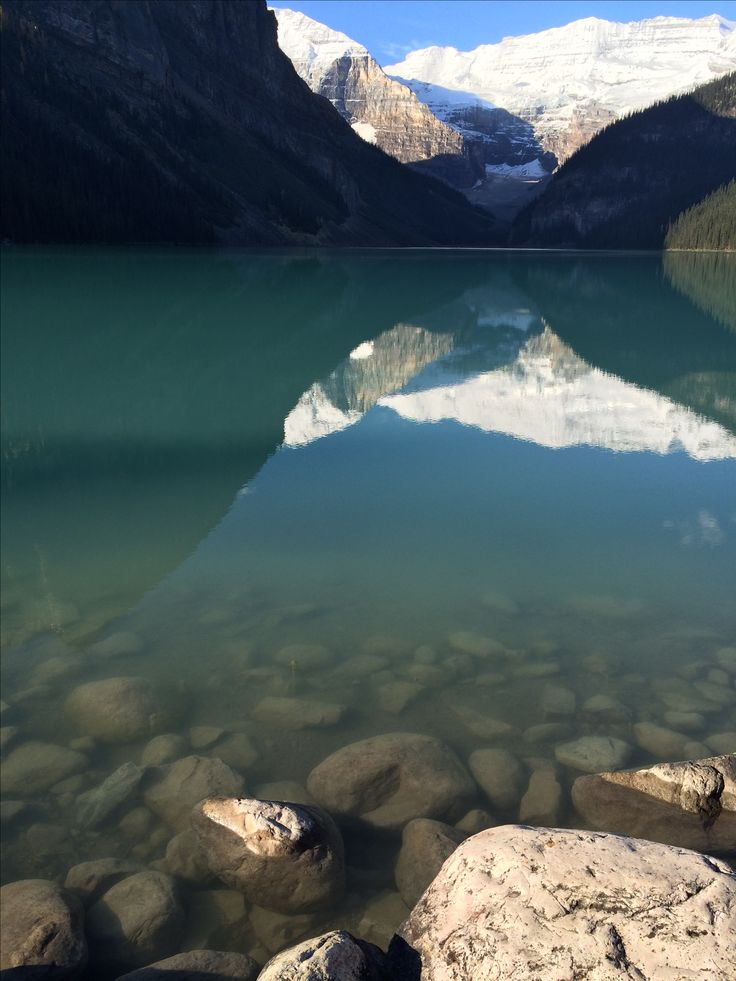 Reflections Lake Louise, Canadian Rocky Mountains