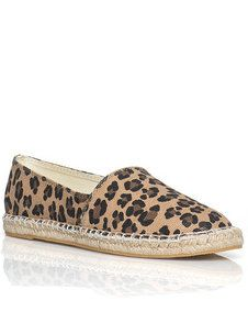 Leopard Print Canvas Shoe