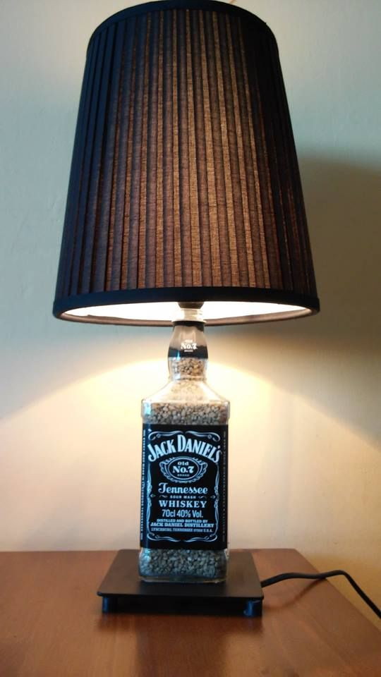 Lampka Jack Daniel's. Prezent dla niego, gift for him. Idealny dla fanów whisky. Do kupienia na mojej stronie :)