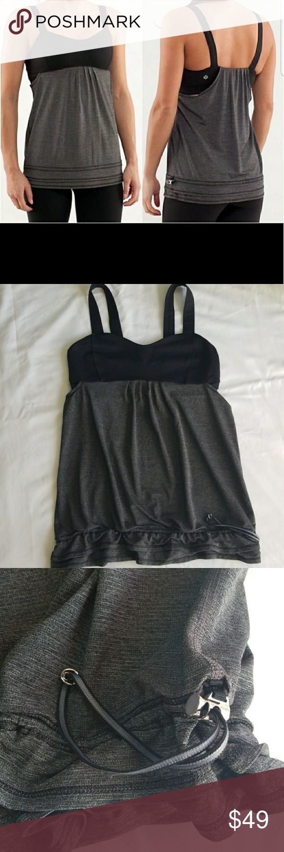 Lululemon tank top size 6 Excellent condition lululemon athletica Tops Tank Tops