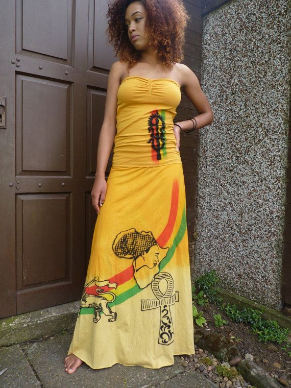 Rasta Lion de Juda Ethiopie bénédiction de la jupe par Royalnatty