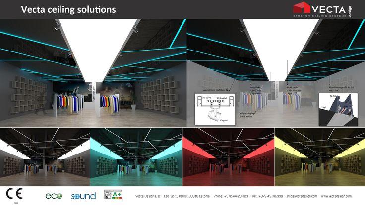 Vecta Design light ceilings for public places