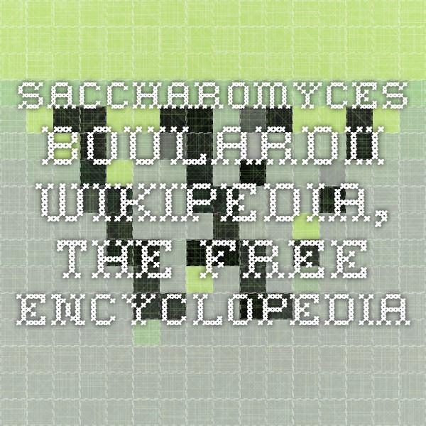 Saccharomyces boulardii - Wikipedia, the free encyclopedia