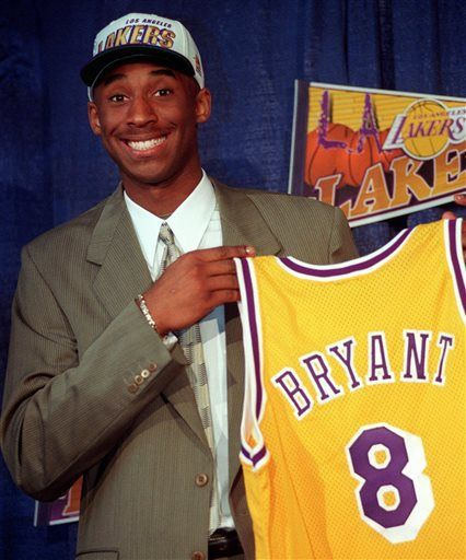 20 years ago: a future NBA star is drafted. Could you believe he almost went to Charlotte? Anyways, Happy Birthday Kobe Bryant! (8/23/1978)