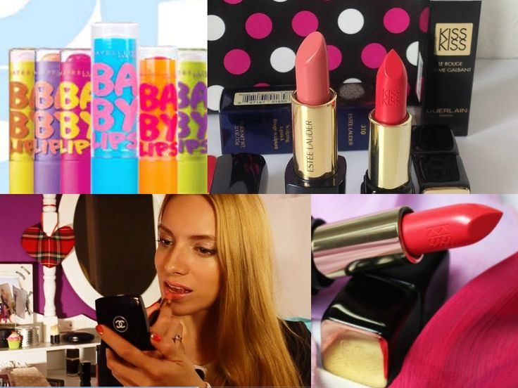 Мои помады и блески для губ - сентябрь 2014 //  My lipsticks