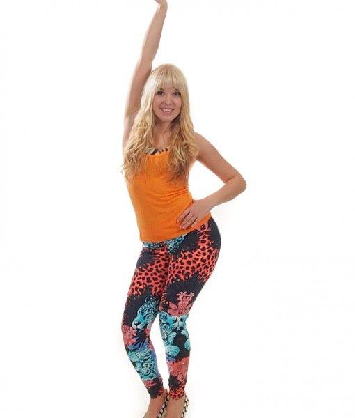 Camboriu Flower and Panther leggings