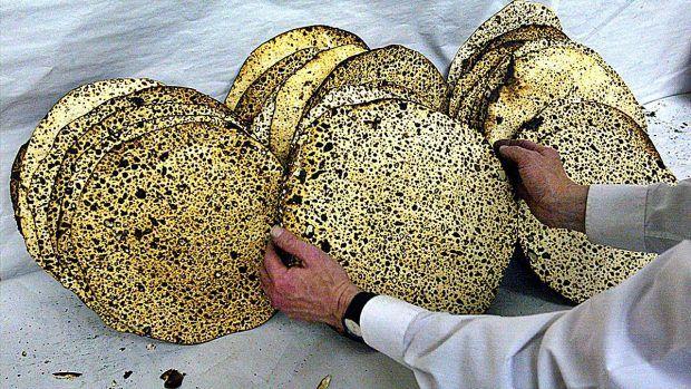 durante la Pascua Judía no se consumen alimentos fermentados