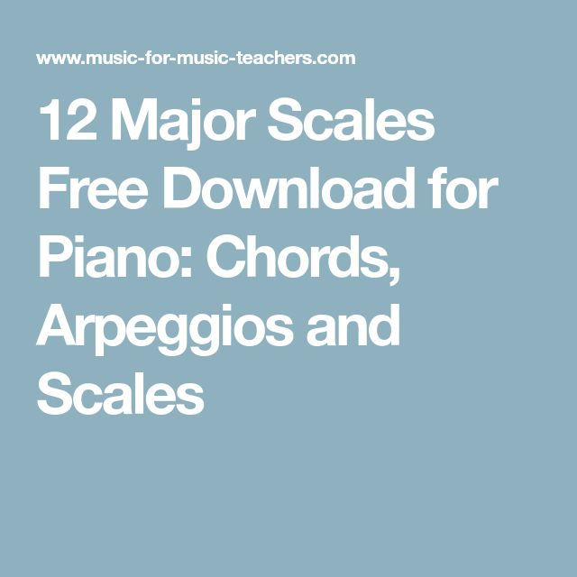 how to play b major scale piano