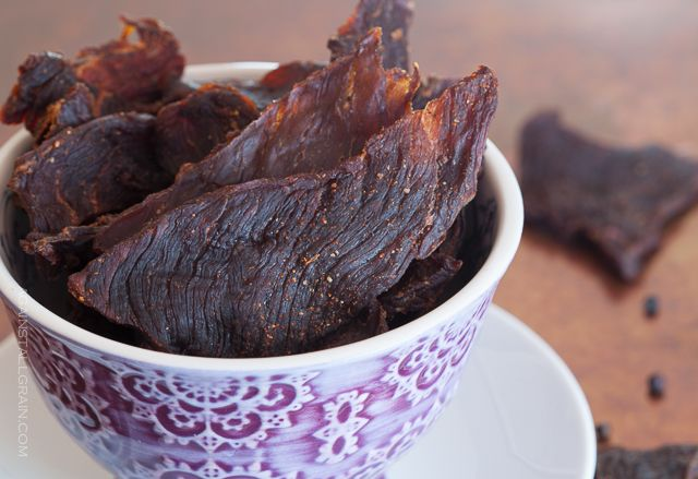 Smoky Beef Jerky Against All Grain | Against All Grain - Delectable paleo recipes to eat & feel great