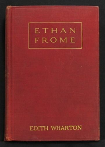 Ethan Frome first edition cover.jpg.  1911.
